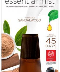 Air Wick Essential Mist Refill, 1 Ct, Sandalwood, Essential Oils Diffuser, Air Freshener