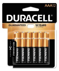 Duracell Coppertop Alkaline AAA Batteries, 12 Count