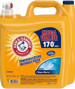 Arm & Hammer Clean Burst Liquid Laundry Detergent, 170 loads
