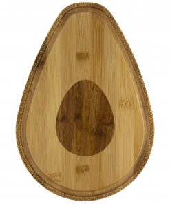 Totally Bamboo Avocado Obsession Eco-Friendly Serving and Cutting Board, Medium