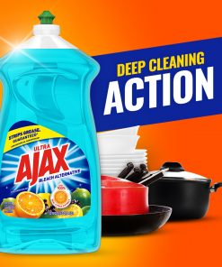 Ajax Ultra Bleach Alternative Liquid Dish Soap, Citrus Berry Splash – 52 fluid ounce