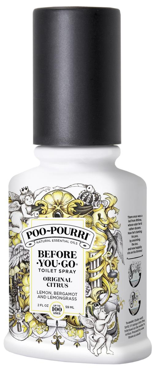Poo~Pourri Before-You-Go Toilet Spray, Original Citrus Scent, 2oz