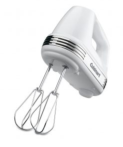 Cuisinart Power Advantage PLUS 5-Speed 220-Watt Hand Mixer, White