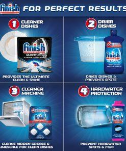 Finish Dishwasher Detergent Gel Liquid, Orange Scent, 75oz