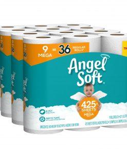 Angel Soft Toilet Paper, 36 Mega Rolls (= 144 Regular Rolls)