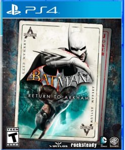 Batman: Return to Arkham, Warner Bros, PlayStation 4