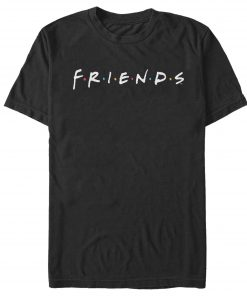 Friends Classic Logo Men's and Big Men's Graphic T-shirt