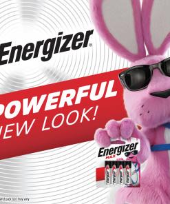 Energizer MAX D Batteries, Alkaline D Cell Batteries (12 Pack)