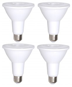 4 Pack Bioluz LED PAR30 LED Bulb Indoor Outdoor Spot Light Dimmable Soft White 3000K UL Listed
