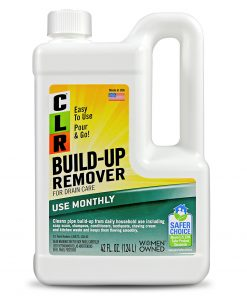 CLR Build-Up Remover, Household Liquid Drain Opener & Care, 42 Oz