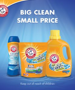 Arm & Hammer OxiClean Fresh Scent Liquid Laundry Detergent, 224 oz