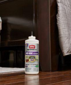 Ortho Home Defense Max Bed Bug & Flea Killer Powder, 12 oz.