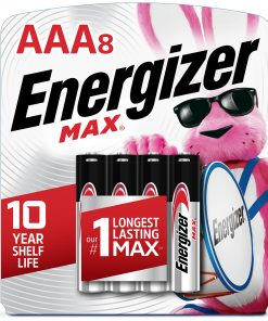 Energizer MAX AAA Batteries, Alkaline Triple A Batteries (8 Pack)