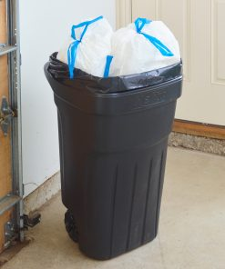 Hefty Cart Liner Trash Bags (Scent Free), 65 Gallon, 10 Ct