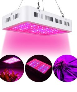 Full Spectrum LED Grow Lights, 600W Plant Grow Lamp with Chain for Greenhouse Hydroponic Indoor Plants Seeding Growing and Flowering