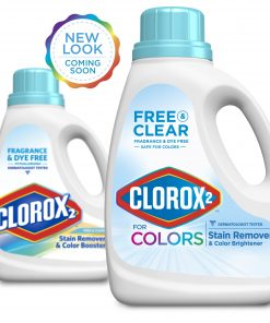 Clorox 2 for Colors – Free & Clear Stain Remover and Color Brightener, 88 Ounces