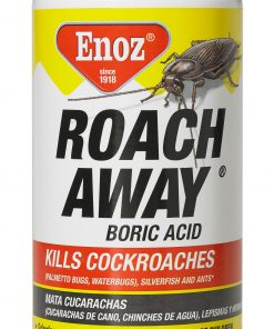 Enoz Roach Away Boric Acid Powder Cockroach Killer, 1 Lb