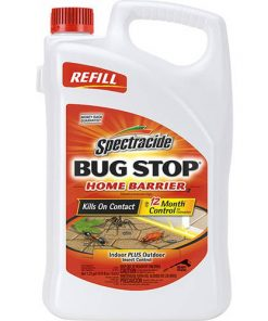 Spectracide Bug Stop Home Barrier, Accushot Refill, Insect Killer, 1.33-Gallon