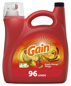 Gain Apple Mango He, 96 Loads Liquid Laundry Detergent, 150 fl oz