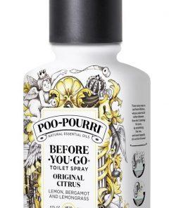 Poo~Pourri Before-You-Go Toilet Spray, Original Citrus Scent, 4oz