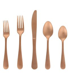 Better Homes & Gardens Alder 20 Piece Flatware Set – Matte Finish