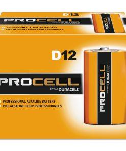 Duracell Procell Alkaline D Batteries 12/Box
