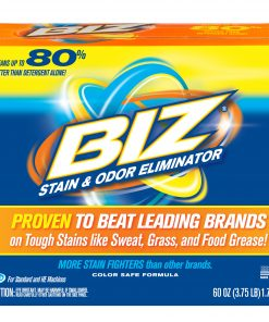 Biz Stain & Odor Eliminator, 60 oz