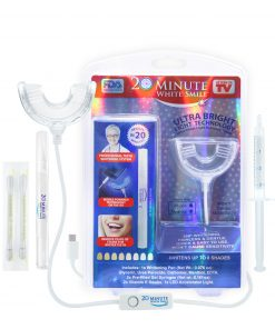 20 Minute White Smile Teeth Whitening Kit, As Seen on TV