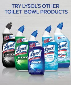 Lysol Bleach Free Hydrogen Peroxide Toilet Bowl Cleaner, Fresh, 24oz