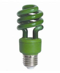Sunlite SM13/G Green Compact Fluorescent 120V 13 Watts T3 Medium (E26) Non-Dimmable (05502-SU)