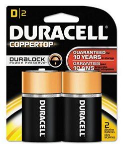 3 Pack – Duracell Coppertop D Alkaline Batteries 2 Each