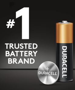 Duracell 1.5V Coppertop Alkaline AA Batteries 4 Pack