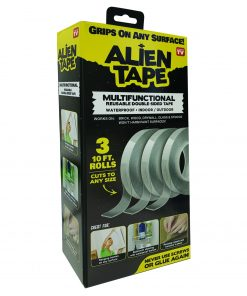 Alien Tape – Instantly Locks Anything into Place Without Screws, Anchors or Adhesive! As Seen on TV