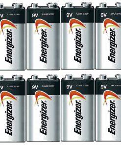 Energizer E522 Max 9 Volt Alkaline Battery – 8 Batteries + 30% Off!