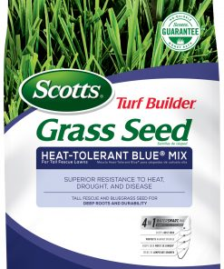 Scotts Turf Builder Grass Seed Heat-Tolerant Blue Mix for Tall Fescue Lawns, 7 lb.