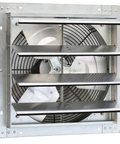 iLIVING 16″ Variable Speed Shutter Exhaust Fan, Wall-Mounted