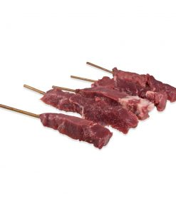 BISON (BUFFALO) SKEWERS 100 skewers (about 9.4 lbs total)