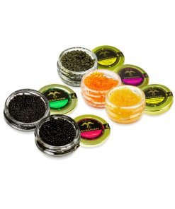 CAVIAR SAMPLER 1 – 4 oz jar sampler
