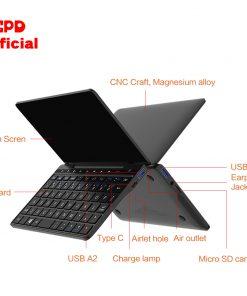 GPD Pocket 2 Pocket2 8GB 256GB 7 Inch Touch Screen Mini PC Pocket Laptop Notebook CPU Intel Celeron 3965Y Windows 10 System