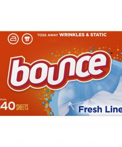 Bounce Fabric Softener Dryer Sheets, Fresh Linen Scent, 240 Count