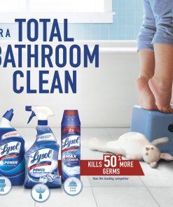 Lysol Bleach Free Hydrogen Peroxide Toilet Bowl Cleaner, Fresh, 24oz