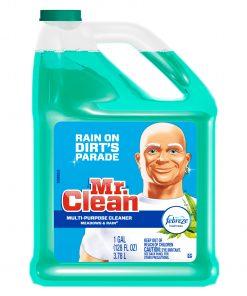 Mr. Clean Liquid All Purpose Cleaner, Meadows and Rain, 128 fl oz