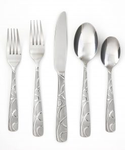 Cambridge Silversmiths Conquest Sand Buffet Flatware Set, 45 Piece