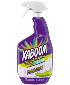 Kaboom Mold & Mildew Stain Remover with Bleach No Drip Foam, 30 oz.