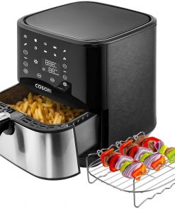 Cosori CP258-AF Stainless Steel Air Fryer 5.8QT