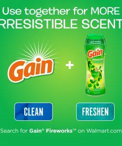 Gain Apple Mango He, 96 Loads Liquid Laundry Detergent, 150 fl oz