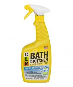 CLR Bath &  Kitchen Cleaner Enhanced Formula Multi-Surface Cleaner Fresh Scent 26 Oz