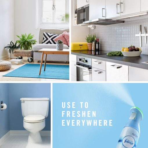 Febreze Odor-Eliminating Air Freshener Spray, Lilac and Violet, 2 ct