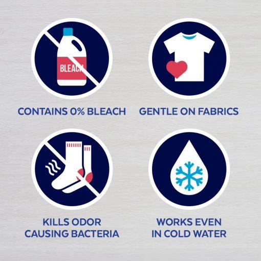 Lysol Laundry Sanitizer, Crisp Linen, 90 oz, Eliminates Odors and Kills Bacteria