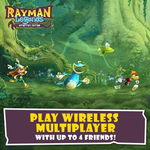 Rayman Legends Definitive Edition, Ubisoft, Nintendo Switch, 887256028374